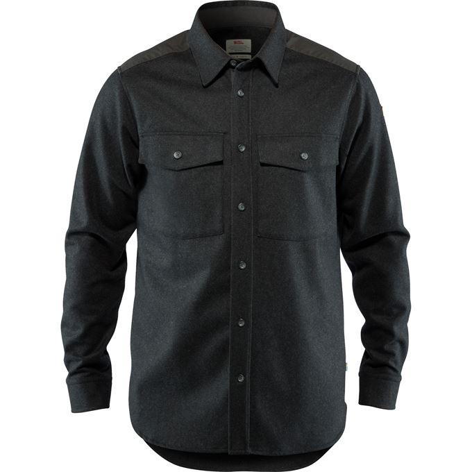 Övik Re-Wool Shirt LS M