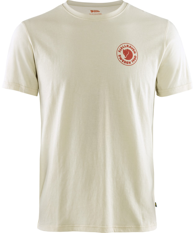 Fjallraven 1960 Logo T-shirt Blanc Craie-Neuf