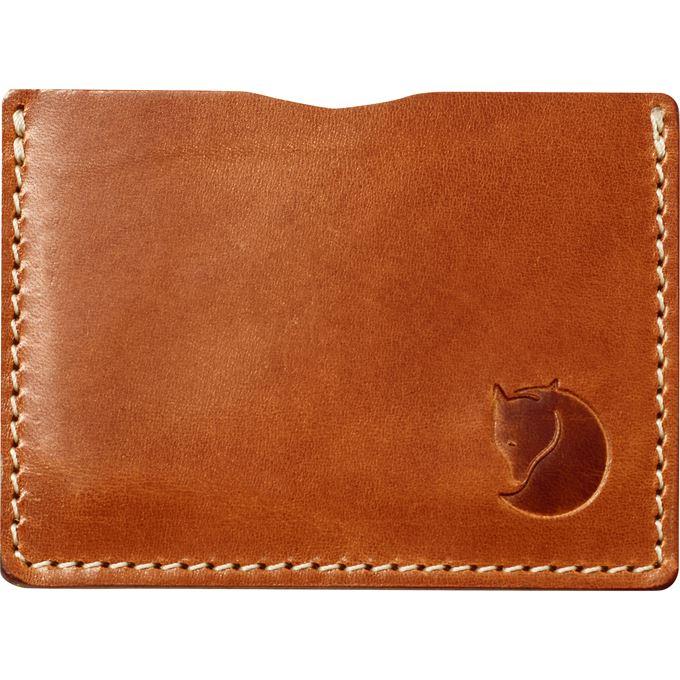 Fjällräven Övik Card Holder Travel accessories brown Unisex