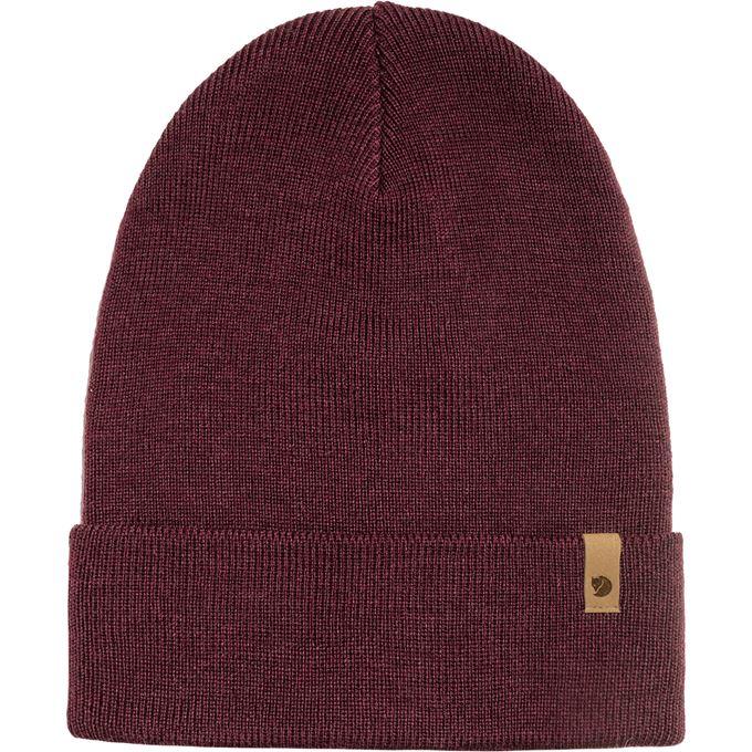 Fjällräven Classic Knit Hat Caps, hats & beanies burgundy, red Unisex