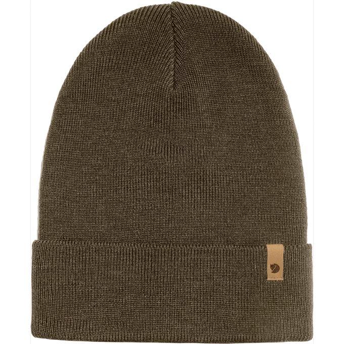 Fjällräven Classic Knit Hat Caps, hats & beanies Dark green, Green Unisex