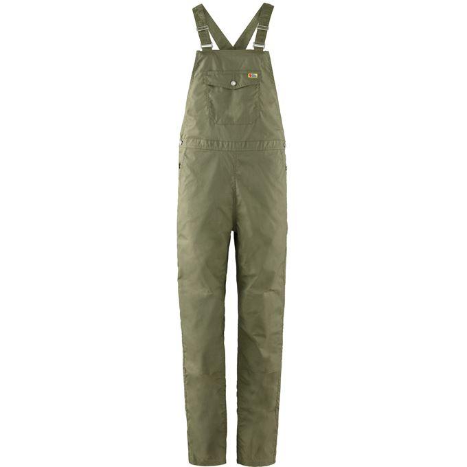 Fjällräven Vardag Dungaree Trousers W Outdoor trousers Green Women's