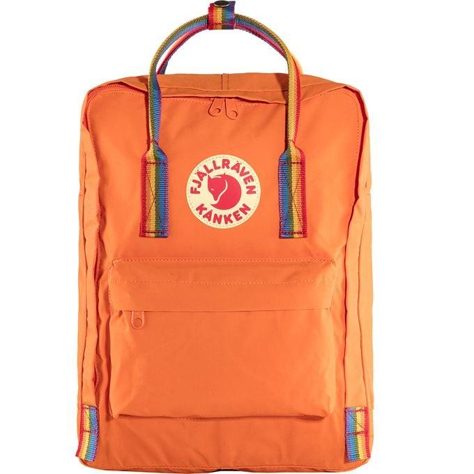 Fjällräven Kånken Rainbow Kånken bags Orange, Multicolor Unisex
