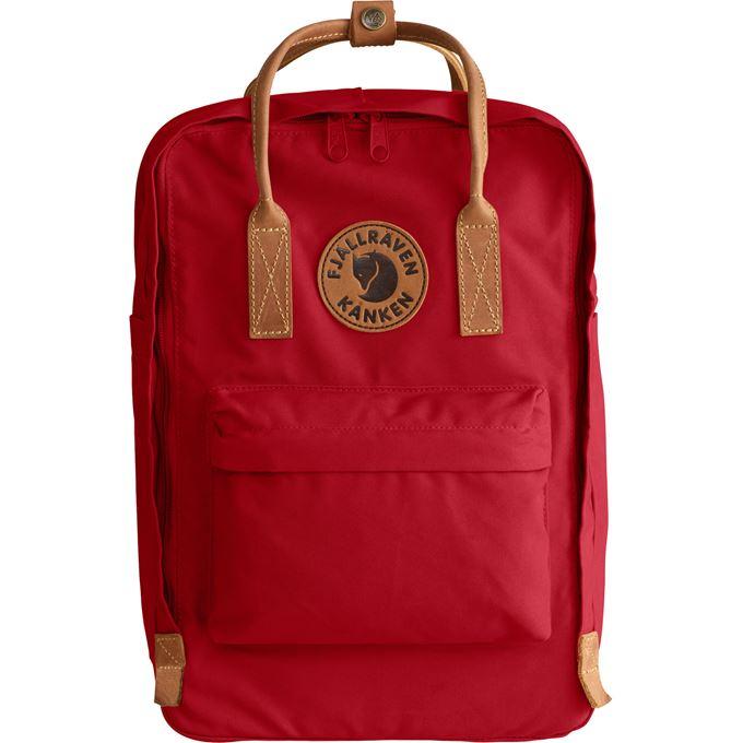 "Fjällräven Kånken No. 2 Laptop 15"" Laptop bags red Unisex"