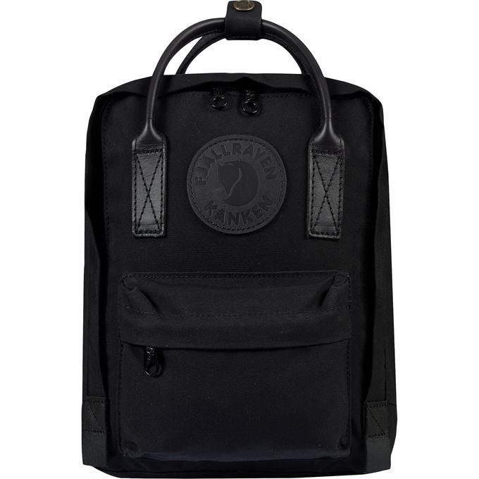 Fjällräven Kånken No. 2 Black Mini Kånken bags black Unisex