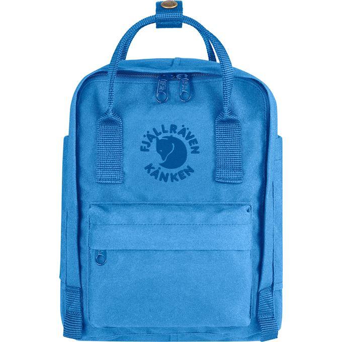 Fjällräven Re-Kånken Mini Kånken bags blue Unisex