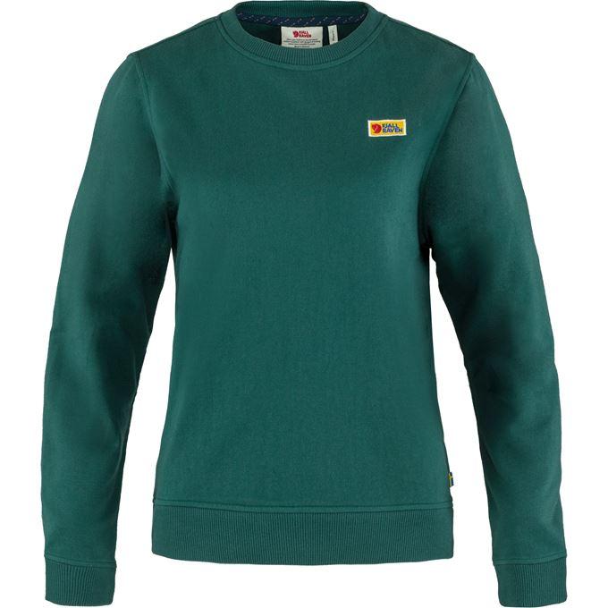 Fjällräven Vardag Sweater W Sweaters & knitwear Dark green, Green Women's