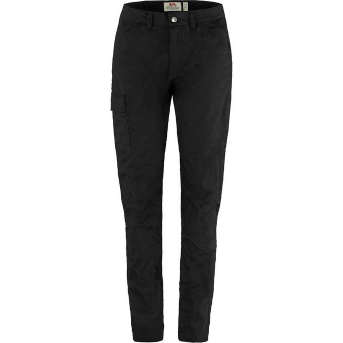 Fjällräven Vardag Lite Trousers W Outdoor trousers Black Women's