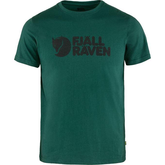 Fjällräven Fjällräven Logo T-shirt M T-shirts & tank tops Turquoise, Dark green, Green Men's