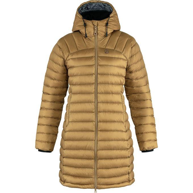 Fjällräven Snow Flake Parka W Down jackets Brown Women's