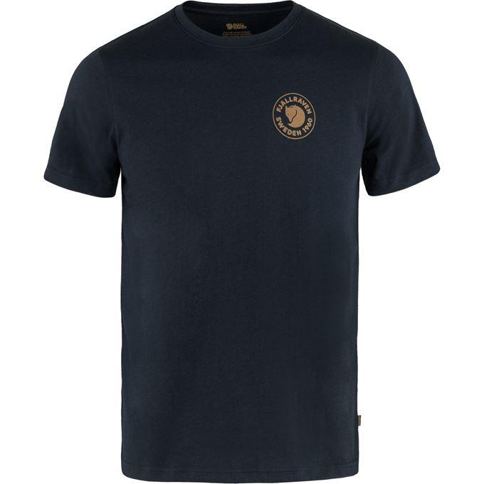 Fjällräven 1960 Logo T-shirt M T-shirts & tank tops Blue Men's