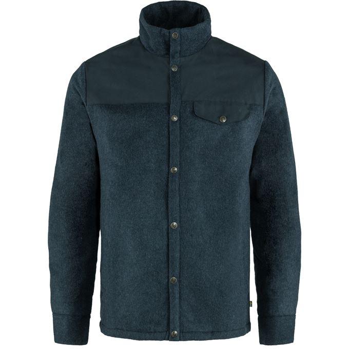 Fjällräven Canada Wool Padded Jacket M Sweaters & knitwear Blue Men's