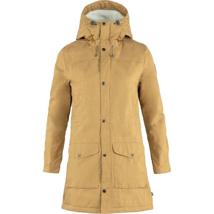 Fjällräven Greenland Winter Parka W Outdoor jackets Brown Women's