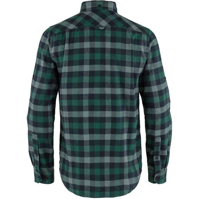 Fjällräven Skog Shirt M Shirts Blue, Turquoise, Dark green, Green Men's