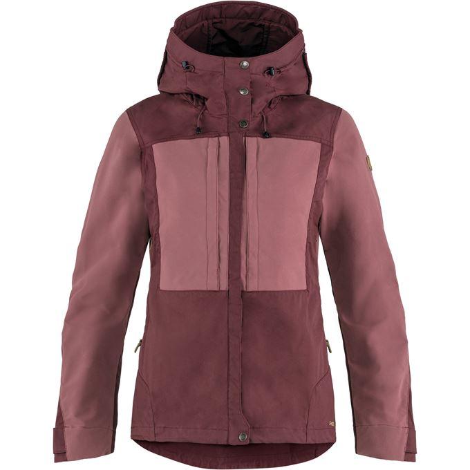 Fjällräven Keb Jacket W Trekking jackets Purple, Burgundy Women's