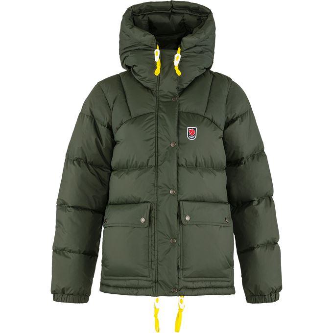 Fjällräven Expedition Down Lite Jacket W Down jackets Dark green, Green Women's
