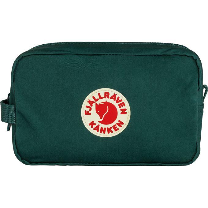 Fjällräven Kånken Gear Bag Travel accessories Dark green, Green Unisex
