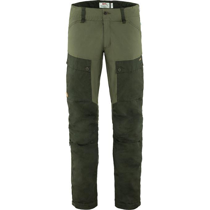 Fjällräven Keb Trousers M Reg Trekking trousers dark green, green Men's
