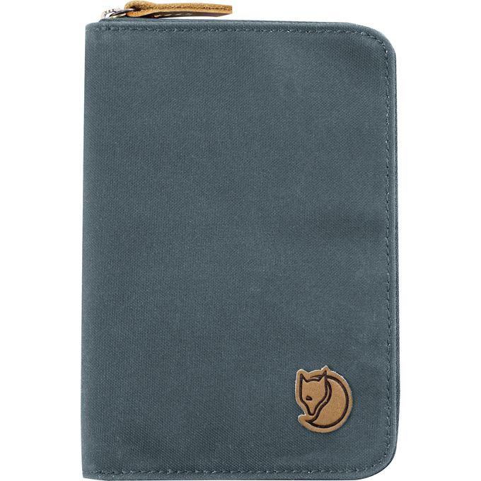 Fjällräven Passport Wallet Travel accessories Grey, Blue Unisex