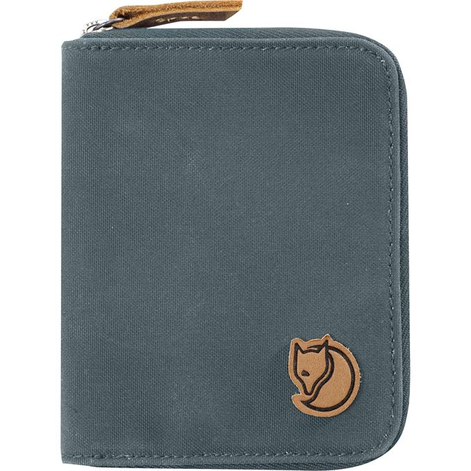Fjällräven Zip Wallet Travel accessories Grey, Blue Unisex