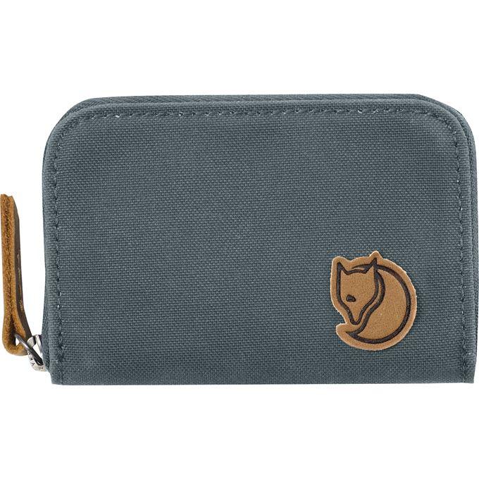Fjällräven Zip Card Holder Travel accessories grey, blue Unisex