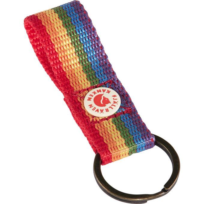 Fjällräven Kånken Rainbow Keyring Backpack & bag accessories multicolor Unisex