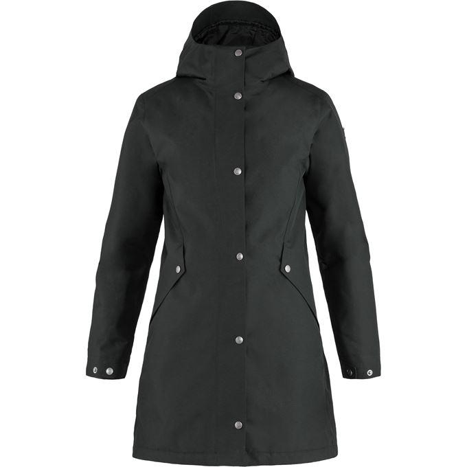 Fjällräven Visby 3 in 1 Jacket W Outdoor jackets Black Women's