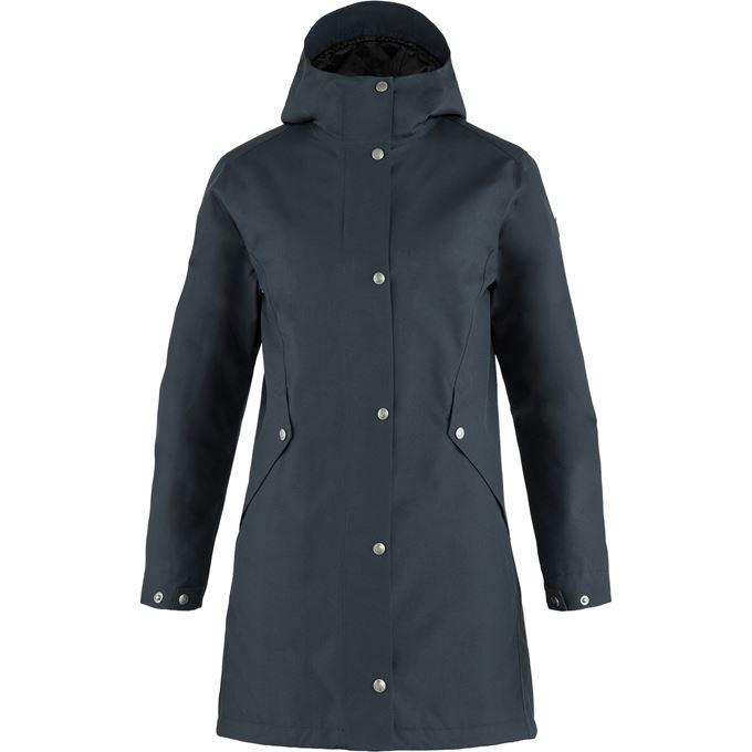 Fjällräven Visby 3 in 1 Jacket W Outdoor jackets Blue Women's