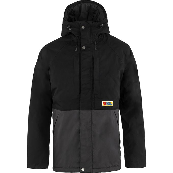 Fjällräven Vardag Lite Padded Jacket M Black, Grey Men's