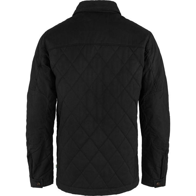 Fjällräven Övik Wool Padded Jacket M Black Men's