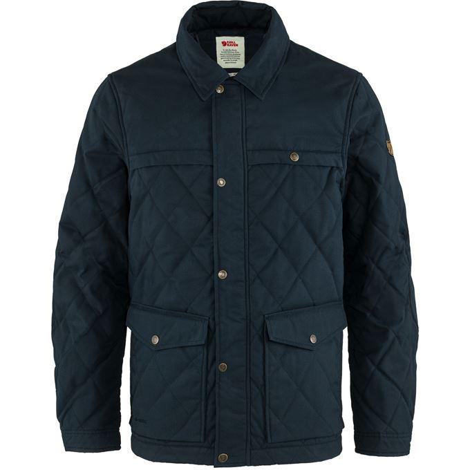 Fjällräven Övik Wool Padded Jacket M Blue Men's