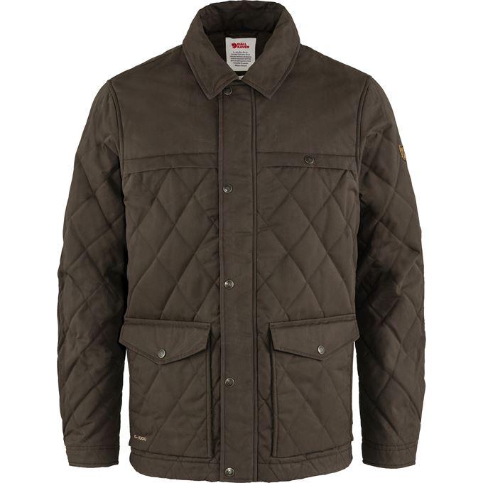 Fjällräven Övik Wool Padded Jacket M Dark green, Green Men's