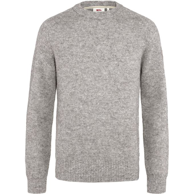 Fjällräven Visby Sweater M Sweaters & knitwear Grey Men's