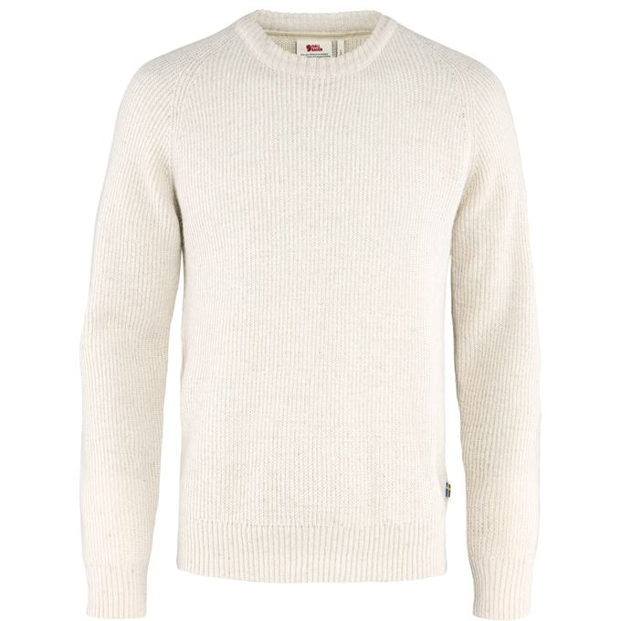 Fjällräven Visby Sweater M Sweaters & knitwear White Men's