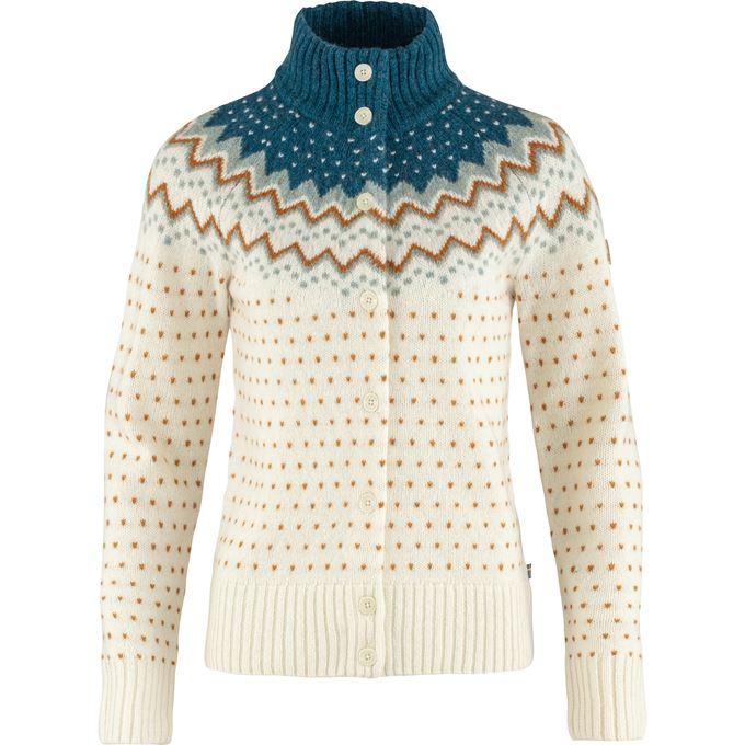 Fjällräven Övik Knit Cardigan W Sweaters & knitwear Dark green, Green Women's