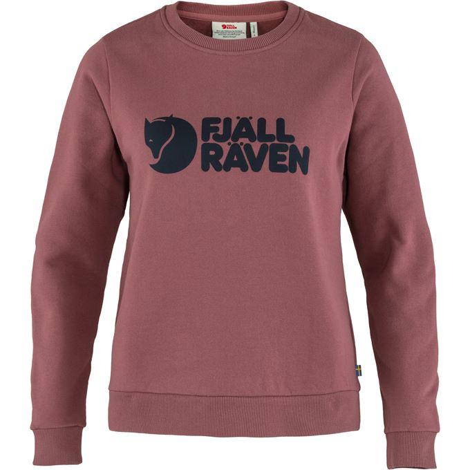 Fjällräven Fjällräven Logo Sweater W Sweaters & knitwear Purple, Pink Women's