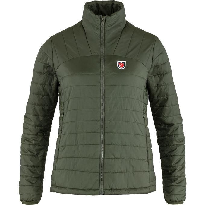 Fjällräven Expedition X-Lätt Jacket W Outdoor jackets Dark green, Green Women's