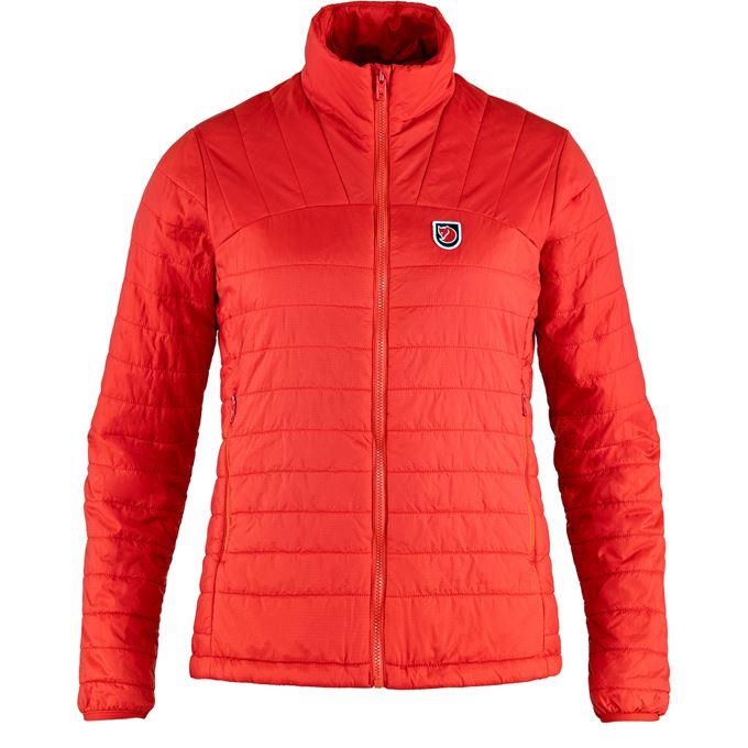 Fjällräven Expedition X-Lätt Jacket W Outdoor jackets Red Women's