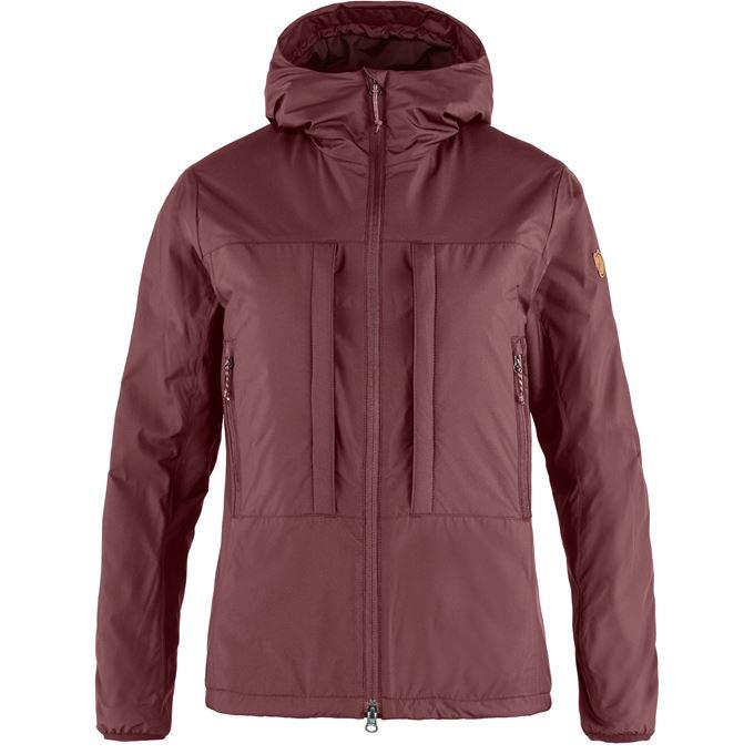 Fjällräven Keb Wool Padded Jacket W Trekking jackets Purple Women's