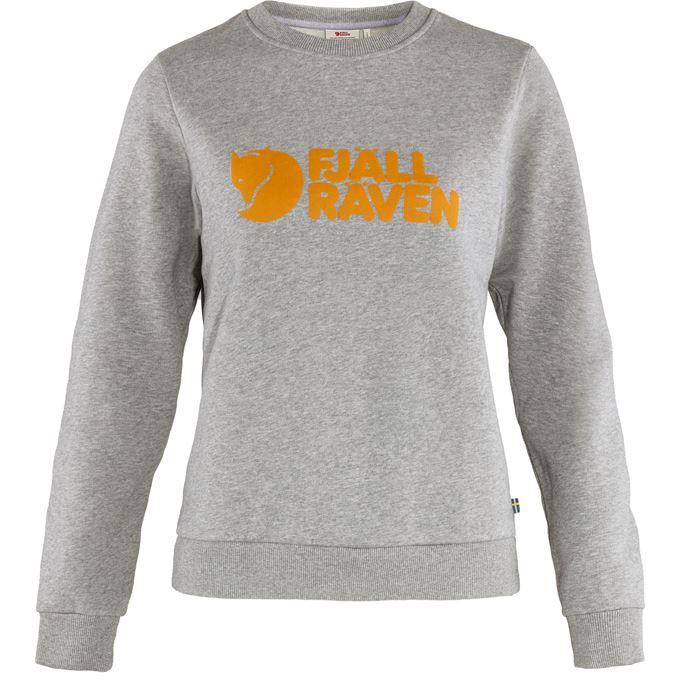 Fjällräven Fjällräven Logo Sweater W Sweaters & knitwear Grey Women's