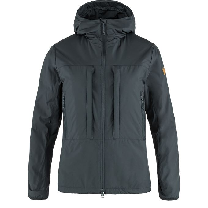 Fjällräven Keb Wool Padded Jacket W Trekking jackets Blue Women's
