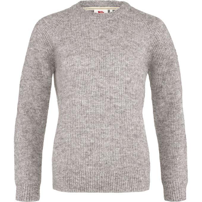 Fjällräven Visby Sweater W Sweaters & knitwear Grey Women's