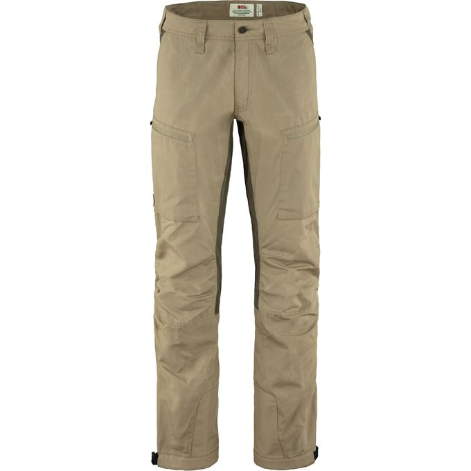 Fjällräven Abisko Lite Trekking Trs M Reg Trekking trousers beige Men's