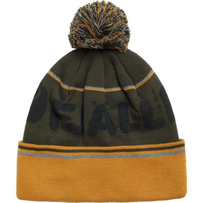 Fjällräven Fjällräven Pom Hat Caps, hats & beanies Dark green, Green, Orange, Yellow Unisex