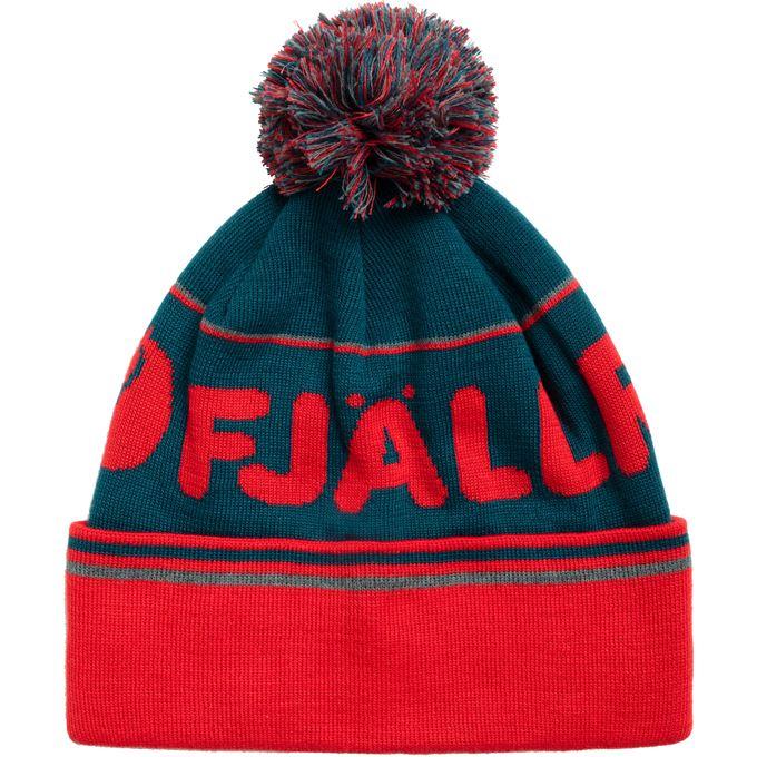 Fjällräven Fjällräven Pom Hat Caps, hats & beanies Blue, Red Unisex