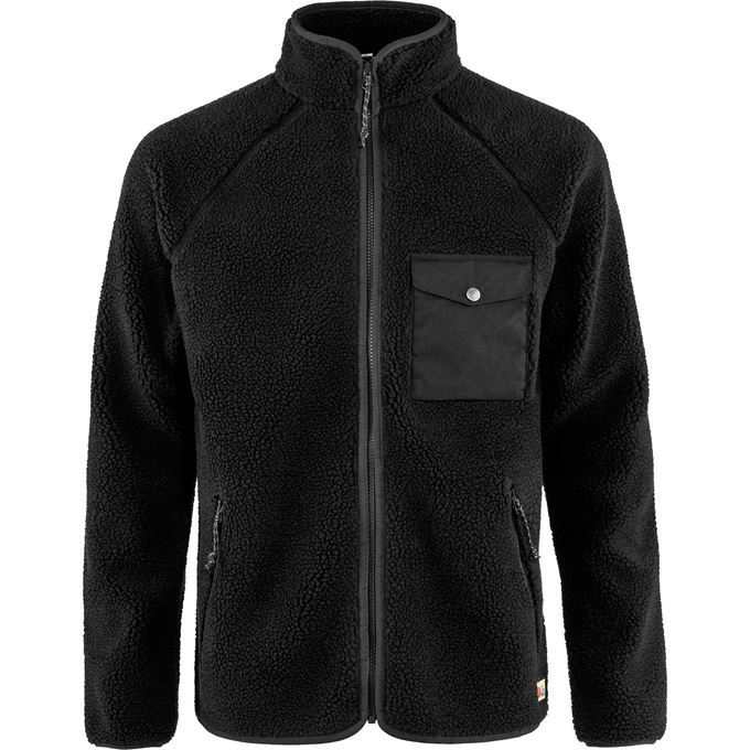 Fjällräven Vardag Pile Fleece M Fleeces Black Men's