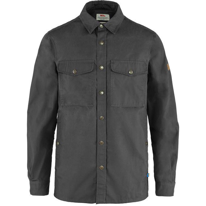 Fjällräven Singi Overshirt M Shirts Grey Men's