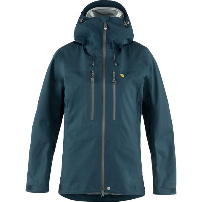 Fjällräven Bergtagen Eco-Shell Jacket W Shell jackets Blue Women's