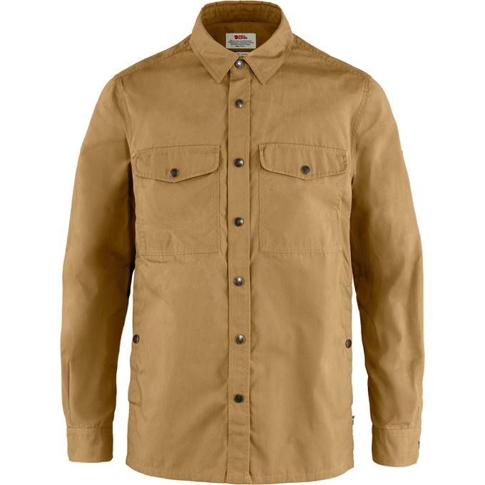 Fjällräven Singi Overshirt M Shirts Brown Men's