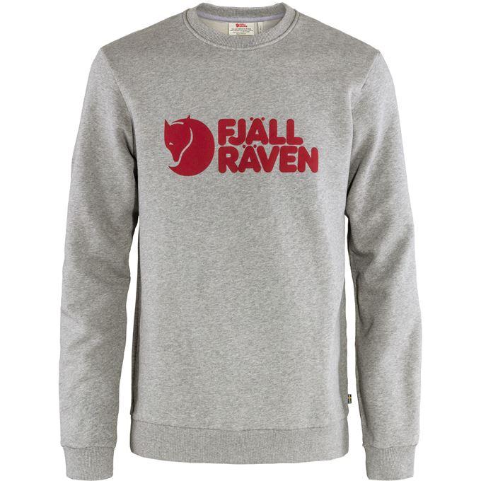 Fjällräven Fjällräven Logo Sweater M Sweaters & knitwear Grey Men's